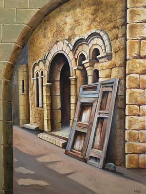 Painting - Old Spanish Monastery by Rich Kuhn