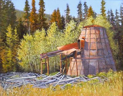 Painting - Old Sparky by Paul K Hill