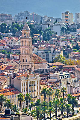 Photograph - Old Split City Center Vertical View by Brch Photography