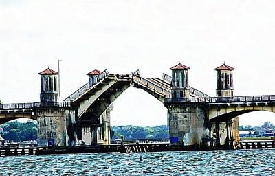 Photograph - Old St Augustine Bridge by Bob Pardue