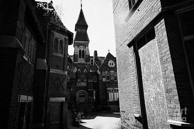 old st josephs orphanage building Preston Lancashire UK Art Print by Joe Fox