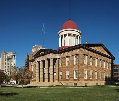 Photograph - Old State Capital Springfield Illinois by Joshua House