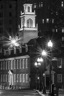 Photograph - Old State House In Boston  by John McGraw