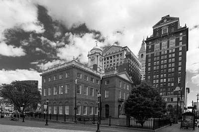 Old State House 15568b Art Print