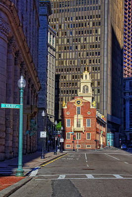 Photograph - Old State House - Boston by Joann Vitali
