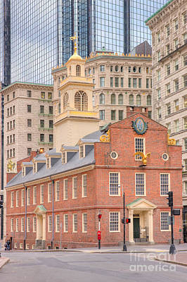 Photograph - Old State House IIi by Clarence Holmes