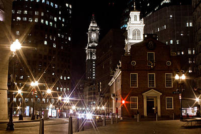 Old State House In Boston Art Print by John McGraw
