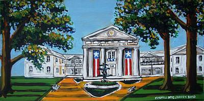 Old State House Art Print by Mitchell McClenney
