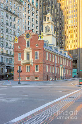 Photograph - Old State House V by Clarence Holmes