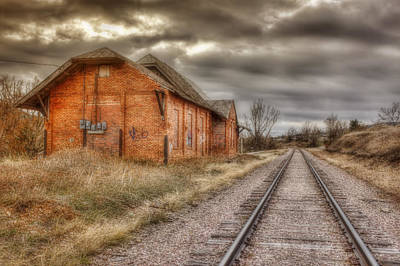 Old Station Art Print by Michele Richter