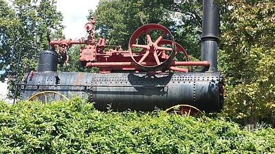 David Gray Photograph - Old Steam Tractor by David Gray