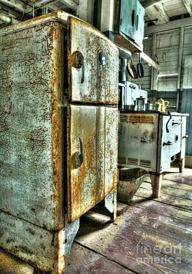 Steamboat Photograph - Old Steamboat Kitchen by Mel Steinhauer
