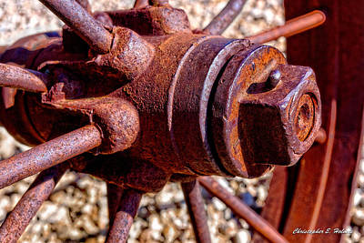 Photograph - Old Steel by Christopher Holmes