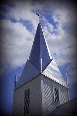 Photograph - Old Steeple by Laurie Perry