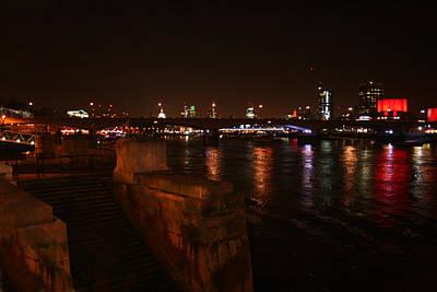 Photograph - London At Night by Doc Braham