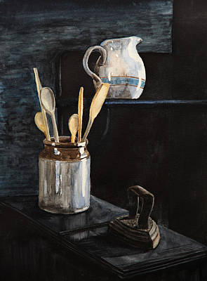Painting - Old Still Life by Masha Batkova