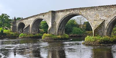 Photograph - Old Stirling Bridge Scotland by Jane McIlroy