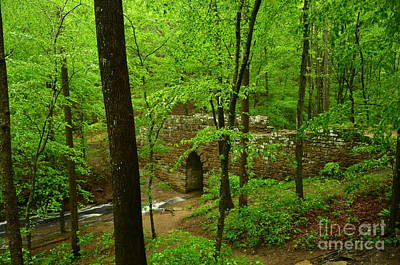 Photograph - Old Stone Bridge 2 by Bob Sample