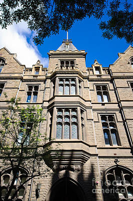Photograph - Old Stone Building Of Rmit University - Melbourne - Australia by David Hill