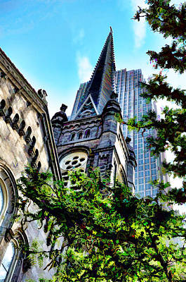 Photograph - Old Stone Church - Cleveland Ohio - 1 by Mark Madere