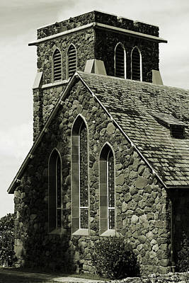 Photograph - Old Stone Church by John Orsbun