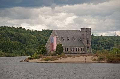 Photograph - Old Stone Church - West Boylston Massachusetts by John Black