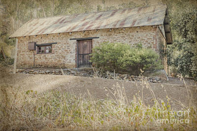 Old Stone Cottage Art Print