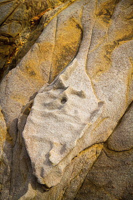 Photograph - Old Stone Face by Roger Mullenhour