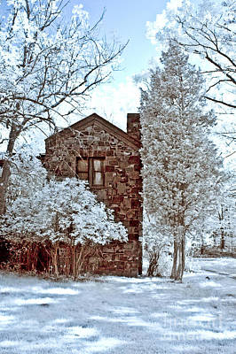 Photograph - Old Stone House by Anthony Sacco
