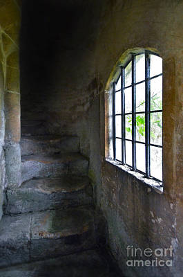 Photograph - Old Stone Staircase by Jill Battaglia