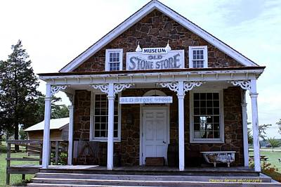 Photograph - Old Stone Store by Nance Larson