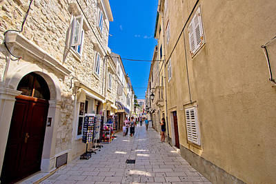 Photograph - Old Stone Street Of Pag by Brch Photography