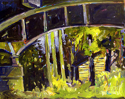 Old Stonehouse Road Overpass Original by Charlie Spear