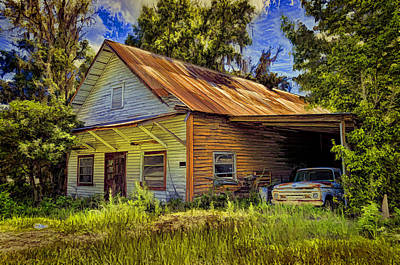 Old Store - Old Ford Art Print