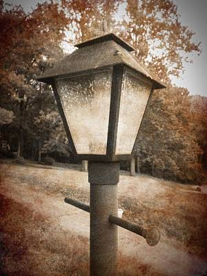 Photograph - Old Street Lamp by Richard Reeve