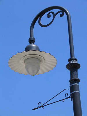 Photograph - Old Streetlamp Greenfield Village by Mary Bedy