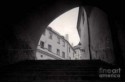 Sightseeing Photograph - Old Streets In Prague by Michal Bednarek