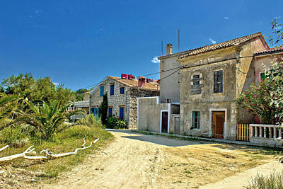 Photograph - Old Streets Of Susak Island by Brch Photography