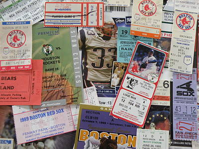 Old Stubs Art Print by Barry Fineberg