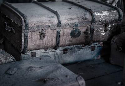 Old Suitcases Original by Kenneth Moelgaard