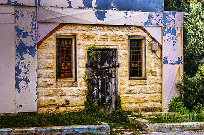 Photograph - Old Supply Door by Rick Bragan