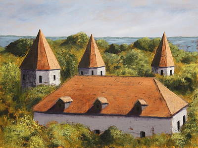 Painting - Old Tallinn by Alan Mager