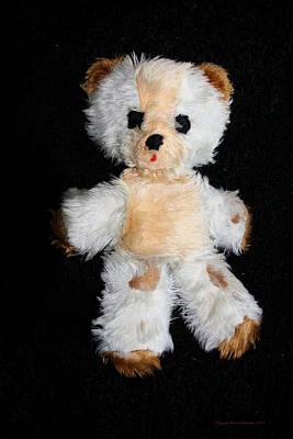 Photograph - Old Teddy Bear Pepi by Leena Pekkalainen