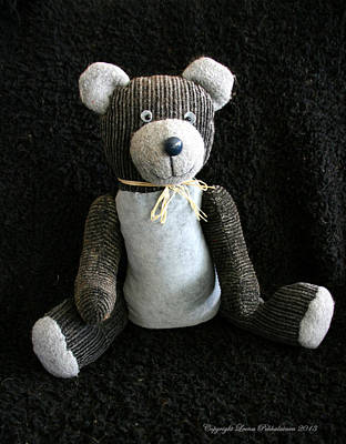 Photograph - Old Teddy Bear Veijo by Leena Pekkalainen