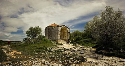 Medieval Temple Photograph - Old Temple by Dmytro Korol