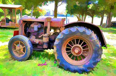 Photograph - Old Tennessee Tractor by Jan Amiss Photography