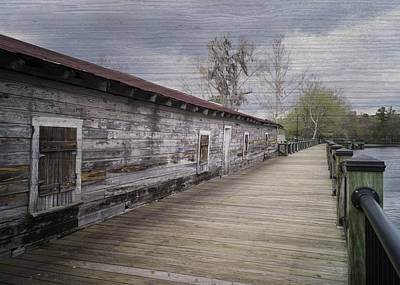 Photograph - Old Terminal On The Waccamaw by MM Anderson