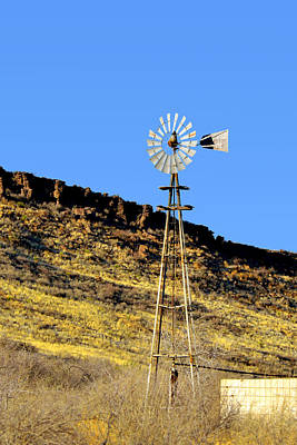 Photograph - Old Texas Farm Windmill by Christine Till