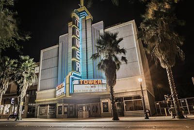 Photograph - Old Theatre In Roseville California...  by Israel Marino
