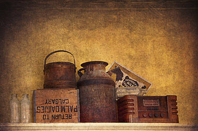 Interior Still Life Digital Art - Old Things I by Maria Angelica Maira